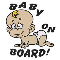 Налепница - Бебе во кола