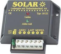 Соларен регулаторен полнач 12V/4A со заштита од длабинско полнење