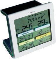 Безжична временска станица со контрола на клима