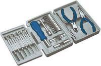 25 делен сет на алати во цврста кутија