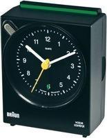 Безжичен-часовник со гласовна контрола-црн