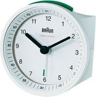Безжичен-часовник будилник, бел