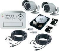 Сет за видео надзор со камери во боја 01