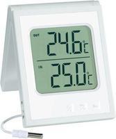 Соларен внатрешен/надворешен термометар