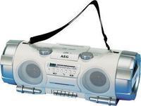 AEG SRR 4317 стерео систем, сребрено-бел