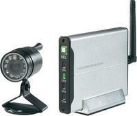 Комплет со 2,4 GHz камера во боја, алуминиумска