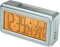 Соларен дигитален радио будилник