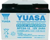 YUASA оловен акумулатор на полнење 24 - 12