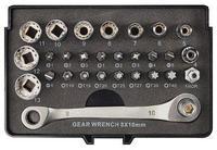 Сет од 29 делови за клучеви  1/4 inch Toolcraft