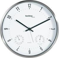 Кварцен ѕиден часовник со термометар / хигрометар